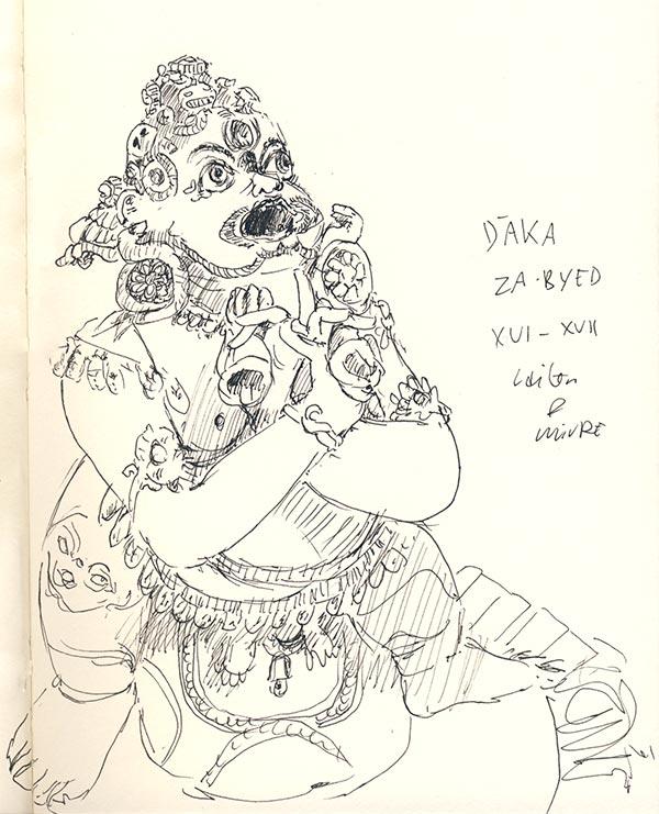 musee guimet le devoreur daka dessin