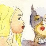 Dr Sketchy : Super-héroïnes et super-méchantes [Mona Bismarck]